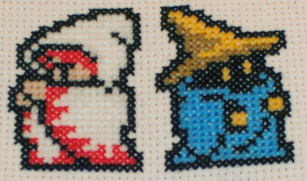 Final Fantasy White Mage and Black Mage 01