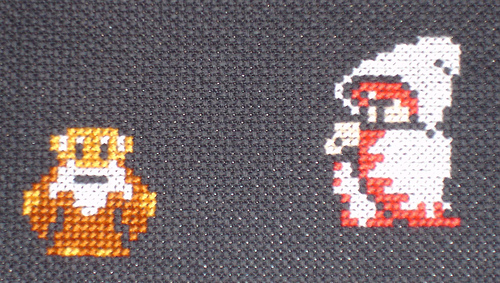 final fantasy cross stitch