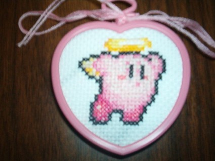 Angel Kirby Cross Stitch