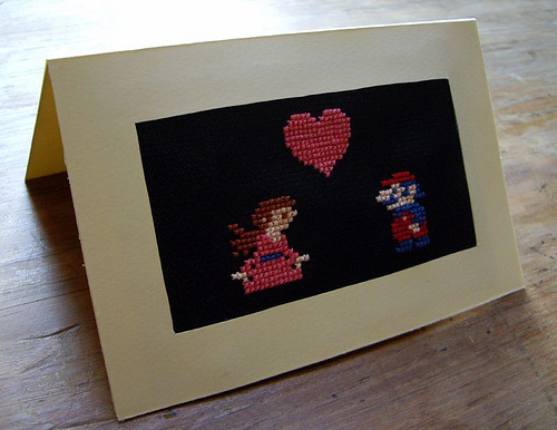 Donkey Kong Valentines Card 01