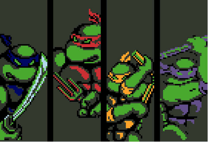 Teenage Mutant Ninja Turtle No Grid