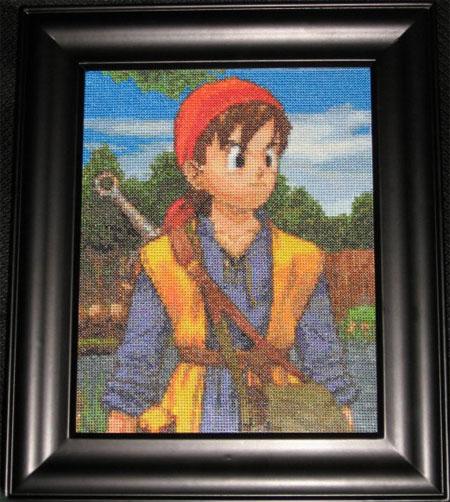 Dragon Quest VIII cross stitching 01