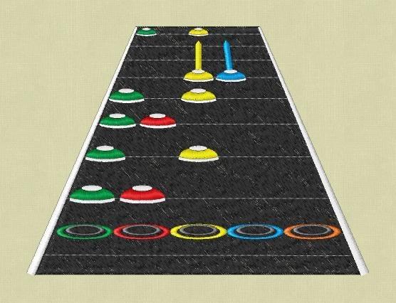 Guitar Hero Embroidery