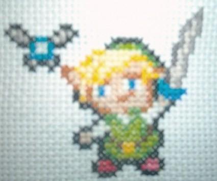 Link Navi cross stitch