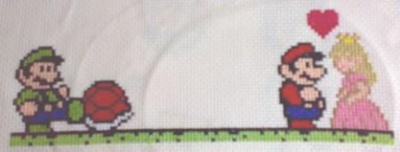 Bitter Luigi Stitching