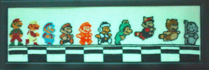 Mario Across the NES Ages finished
