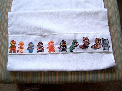 Mario Towel 02