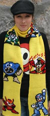Mega Man 2 Scarf 01