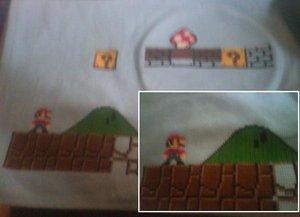 epic mario cross stitch progress