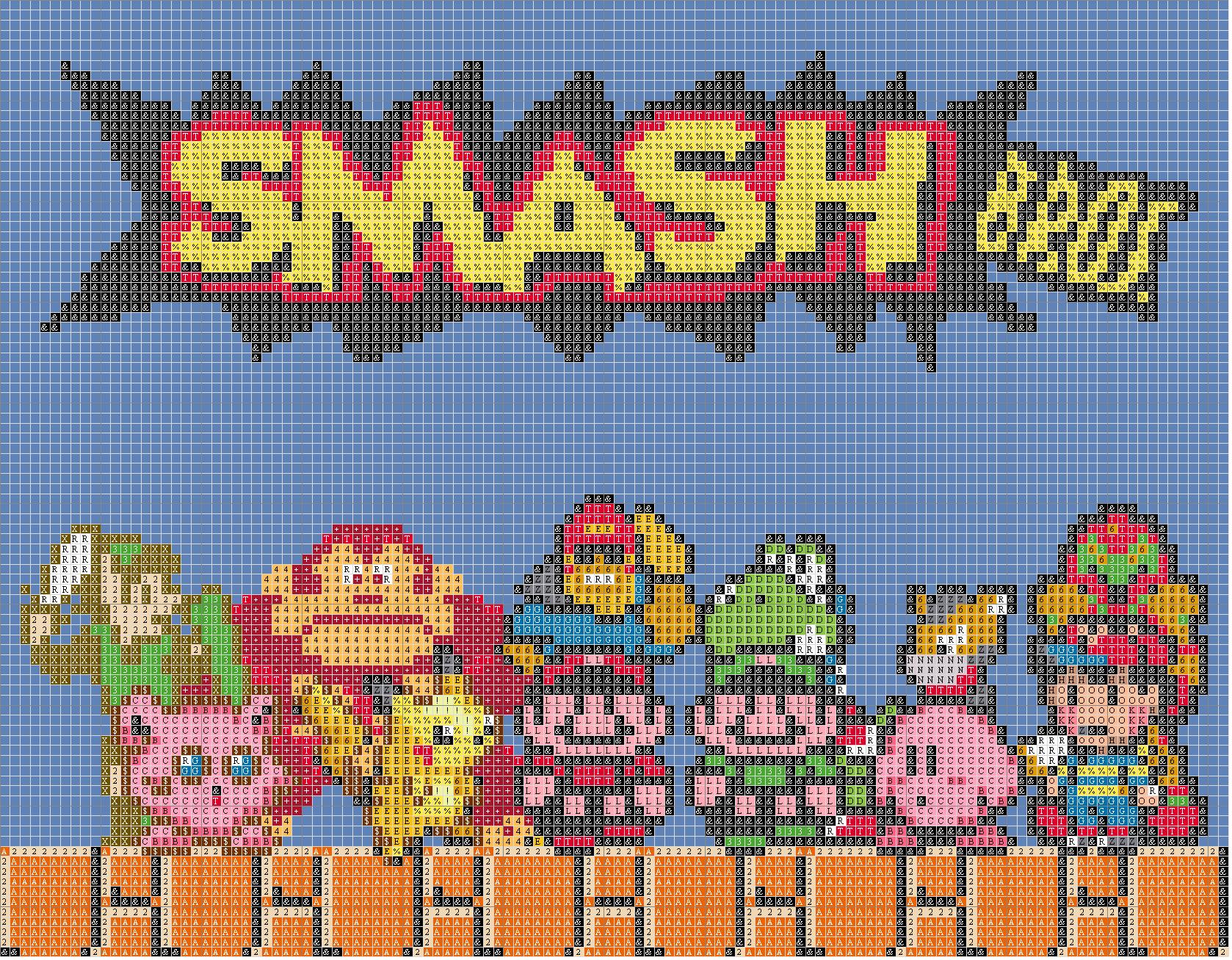 Smash Bros Symbol Pattern ? Smash Bros Symbol Legend