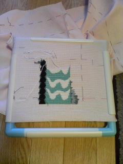 Hiroko's Zelda Stitching