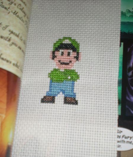 Luigi Bookmark