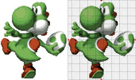 Yoshi Cross Stitch Pattern Thumbnail