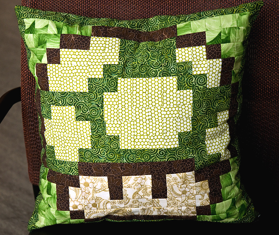 1up Quilted Pillow
