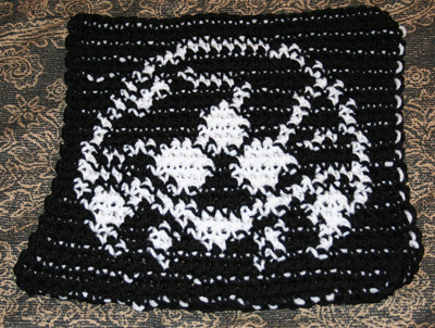 Metroid Tapestry Crochet