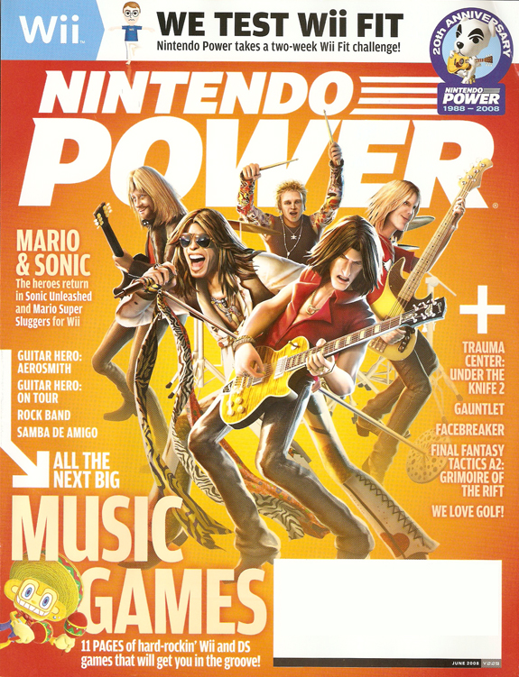 Nintendo Power June Cover
