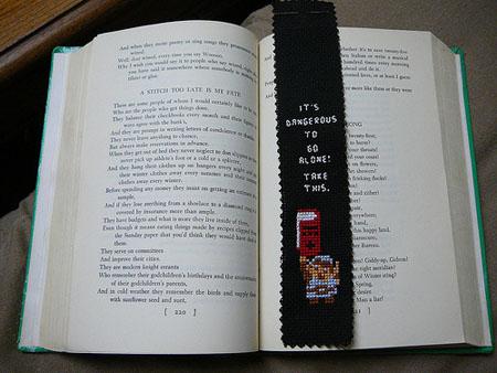Zelda Bookmark #2