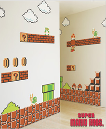Blik Mario Decals