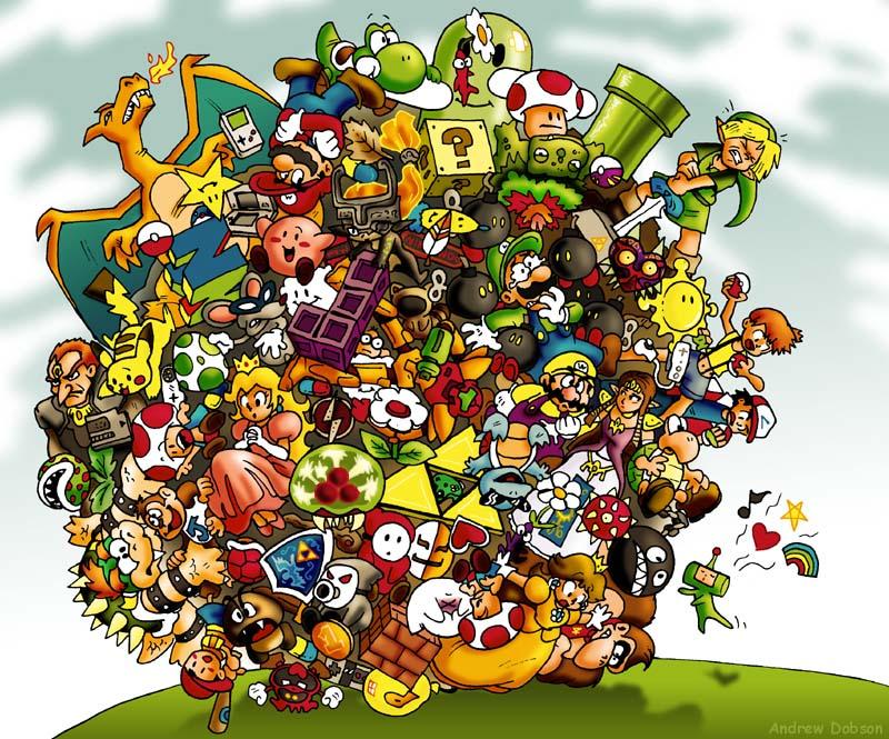 Nintendo Katamari!!