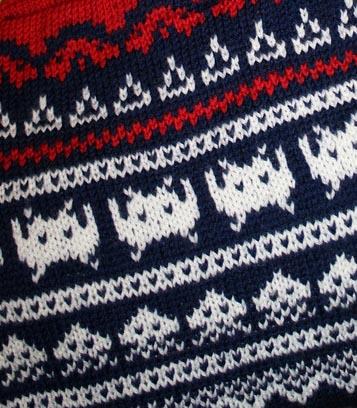 Space Invaders Sweater 02