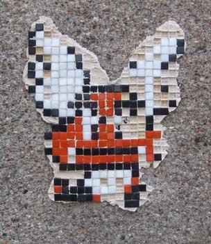 Goomba Mosaic Graffiti