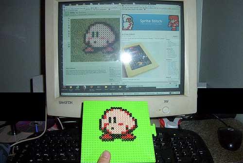 Kirby Perler Bead