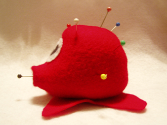 Octorok Pin Cushion 02