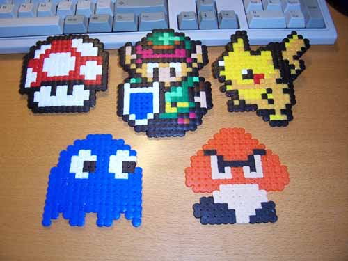 perler bead patterns. game perler beads as well)
