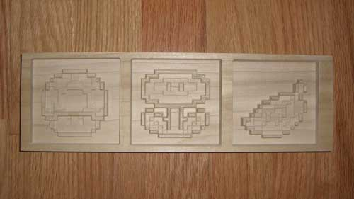Wood Carving Mario