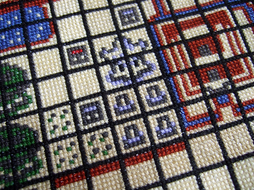 Cross Stitch Zelda Map 02