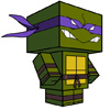 Donatello Papercraft