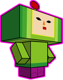 Katamari Prince Papercraft