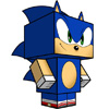 Sonic Papercraft