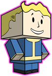 Vault Boy Papercraft