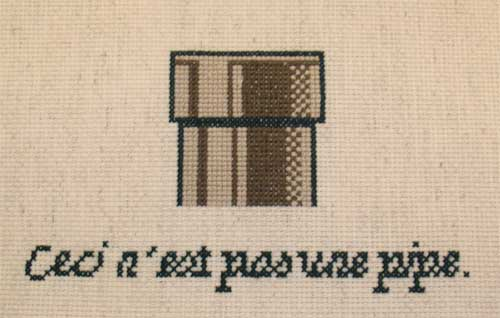 this is not a pipe cross stitch