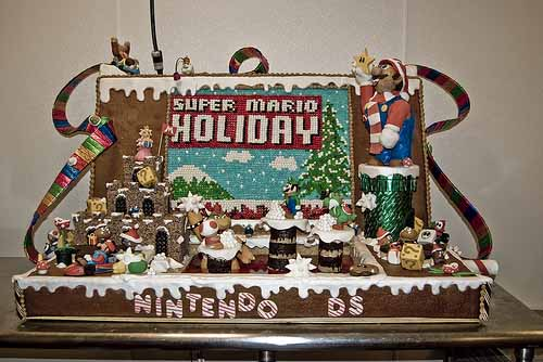 Nintendo DS Gingerbread House 01