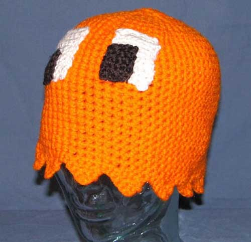 Pacman Ghost Clyde Hat