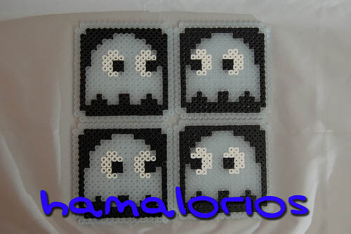Glow in the Dark Pacman Ghost Coasters 01