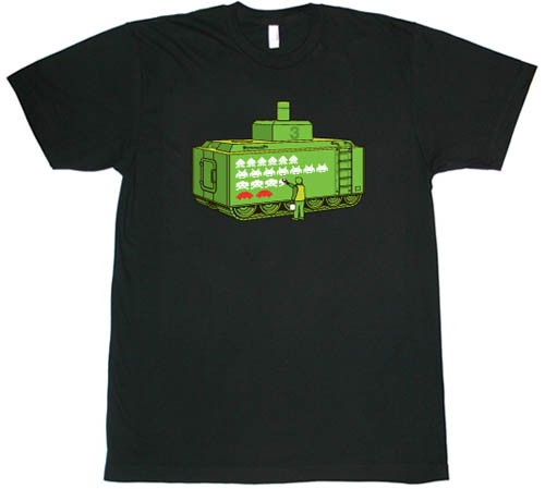 Space Invaders T Shirt