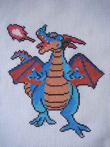 Dragon Warrior Cross Stitch