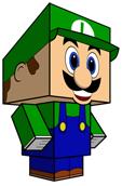 Luigi Papercraft