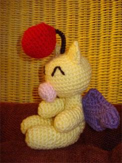 Crochet Moogle Amigurumi