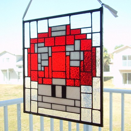 mario mushroom stained glass 02