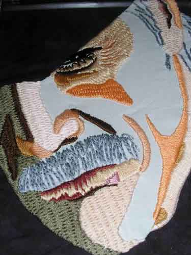 Snake Metal Gear Solid Embroidery 01