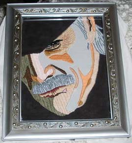 Snake Metal Gear Solid Embroidery 02