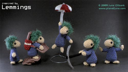 Amigurumi Lemmings 01