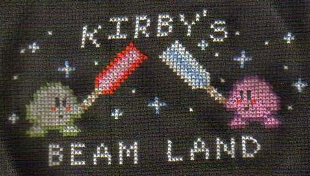 Star Wars Kirby Cross Stitch