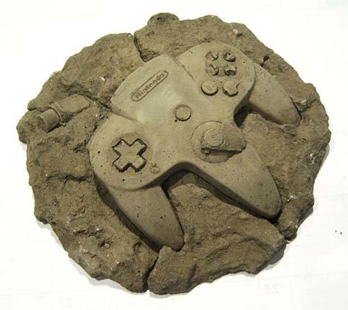 Fossil N64 controller