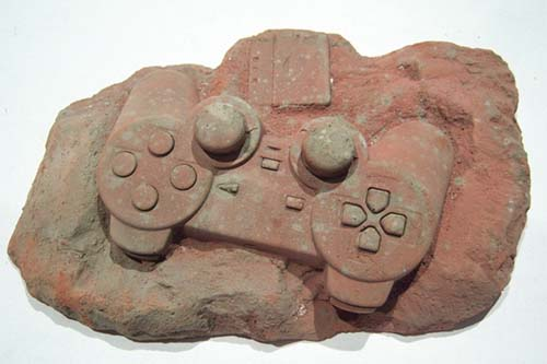 Fossil Playstation Controller