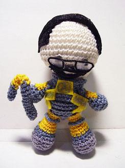 Gordon Freeman Half Life amigurumi